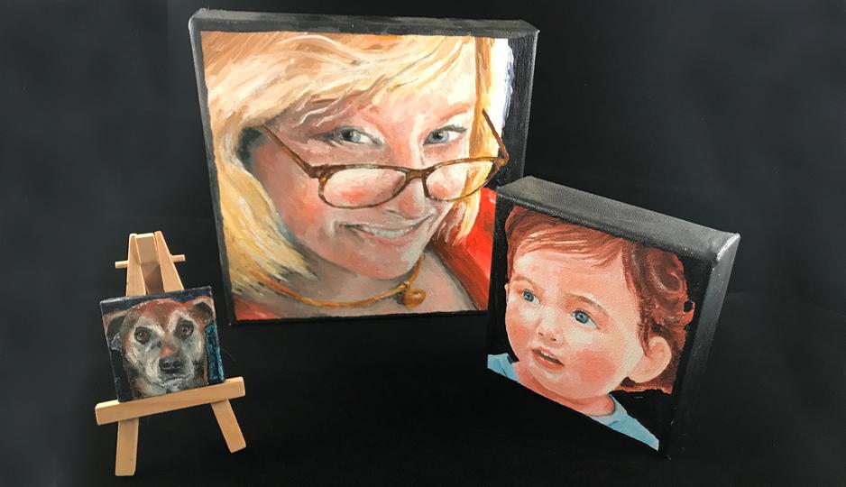 sample portraits by steve stinson