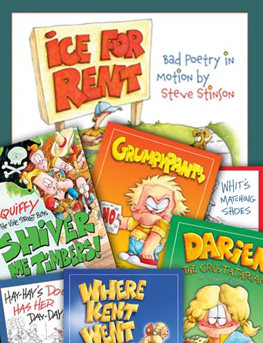 childrens books by steve stinson